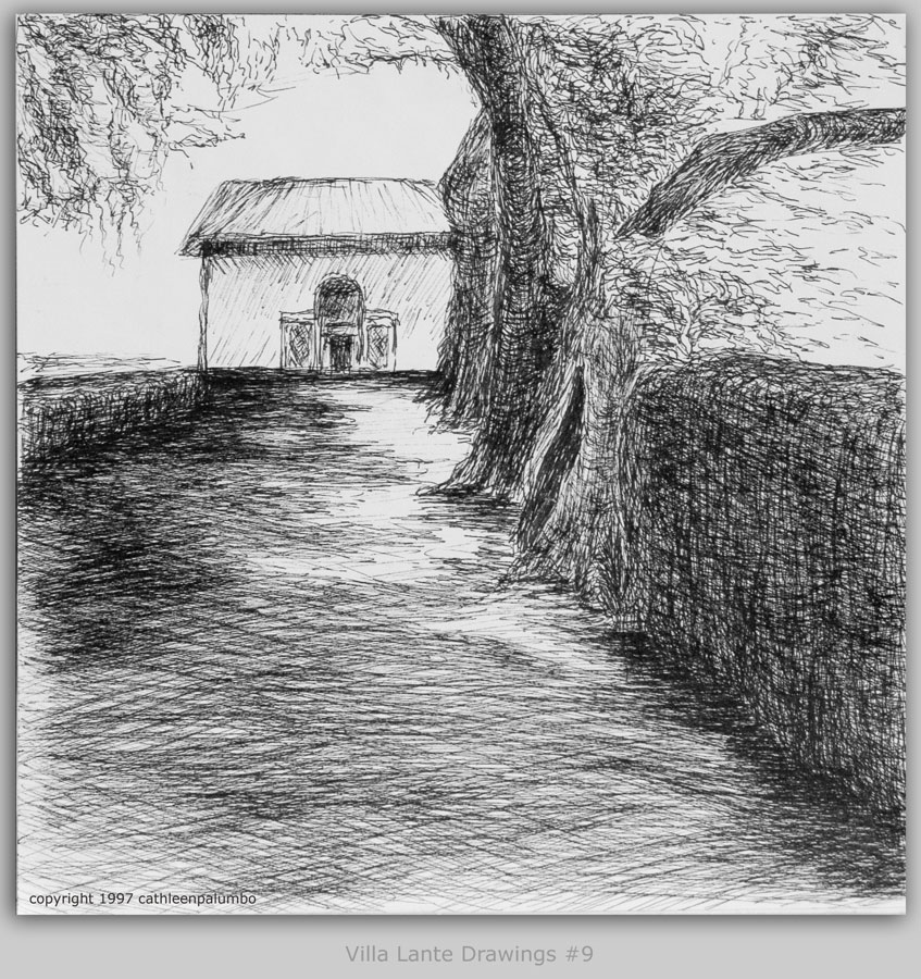 Villa Lante - Drawing #9